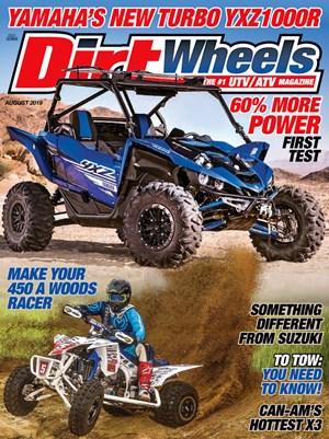 Dirt Wheels Magazine | 8/2019 Cover