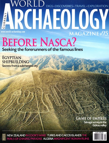 Current World Archaeology Cover - 6/1/2019