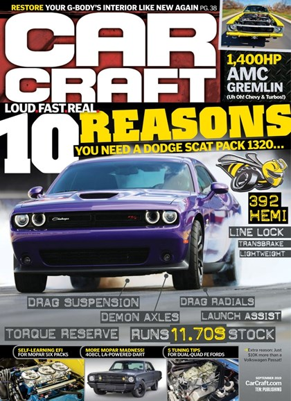 Car Craft Cover - 9/1/2019