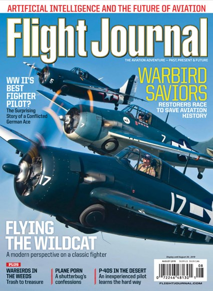 Flight Journal Cover - 8/1/2019