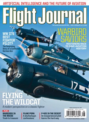 Flight Journal Magazine | 8/2019 Cover