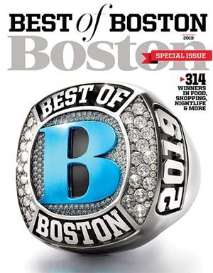 Boston Magazine | 7/2019 Cover