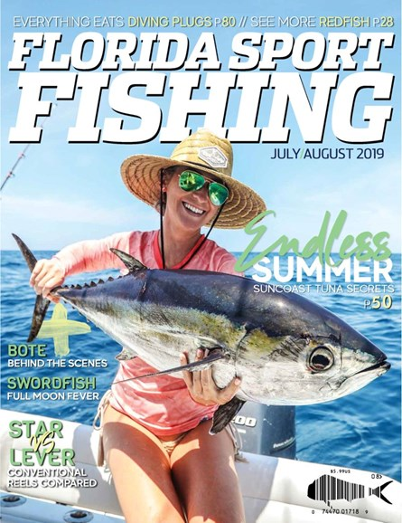 Florida Sport Fishing Cover - 7/1/2019