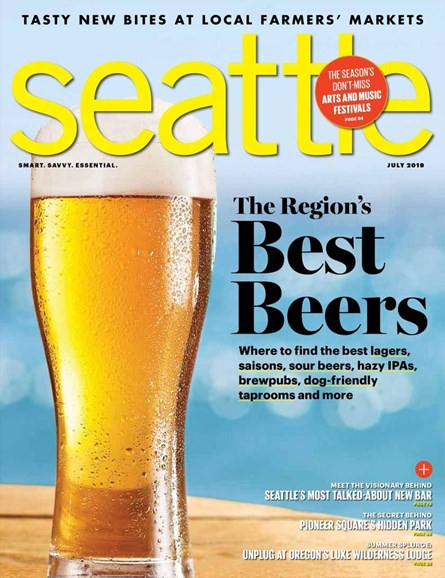 Seattle Magazine Cover - 7/1/2019