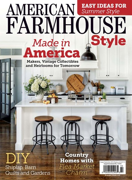 American Farmhouse Style Cover - 8/1/2019