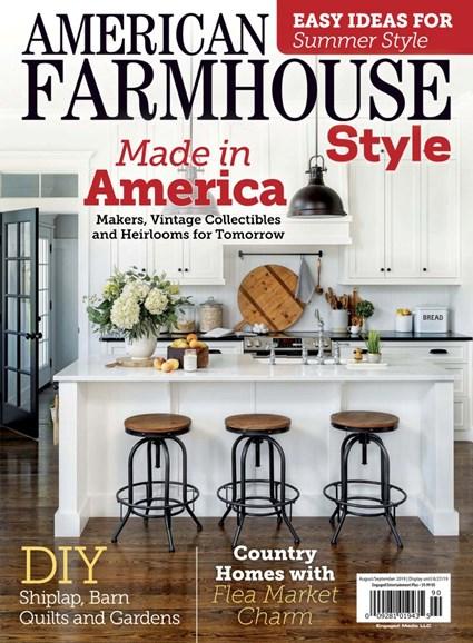 American Farmhouse Style Cover - 8/1/2019