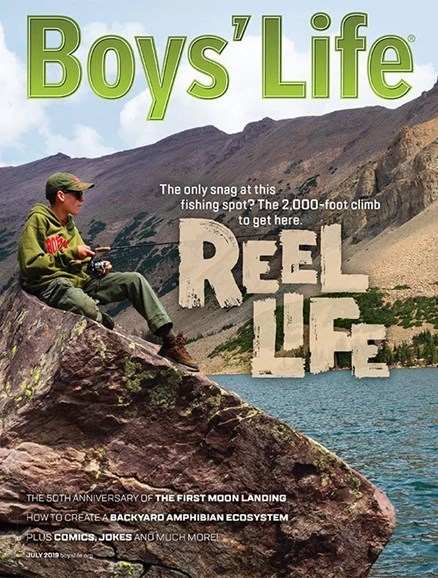 Boy's Life Cover - 7/1/2019