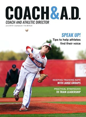 Coach and Athletic Director Magazine | 6/2019 Cover