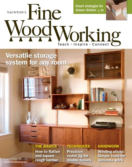 Fine Woodworking Cover - 8/1/2019