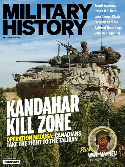 Military History Cover - 9/1/2019