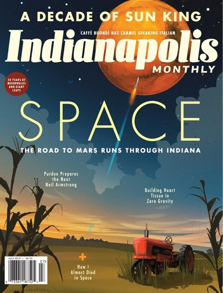 Indianapolis Monthly Cover - 7/1/2019