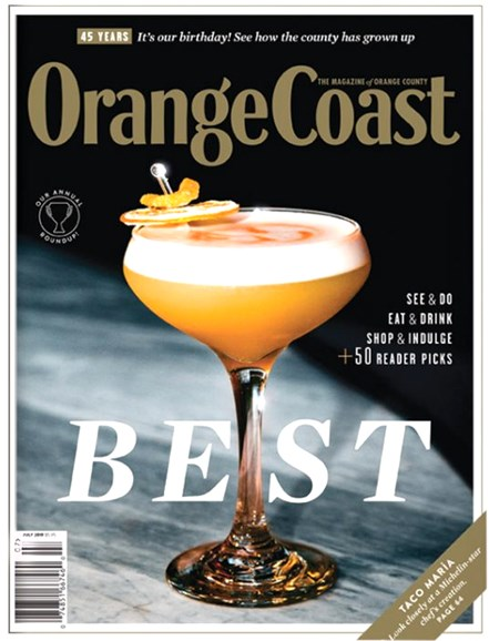 Orange Coast Cover - 7/1/2019
