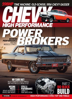 Chevy High Performance Magazine | 9/2019 Cover