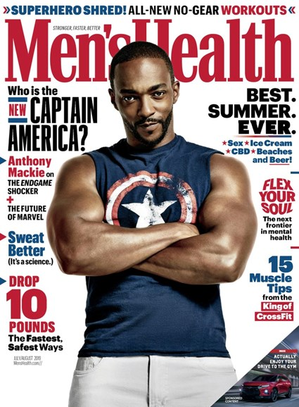 Men's Health Cover - 7/1/2019