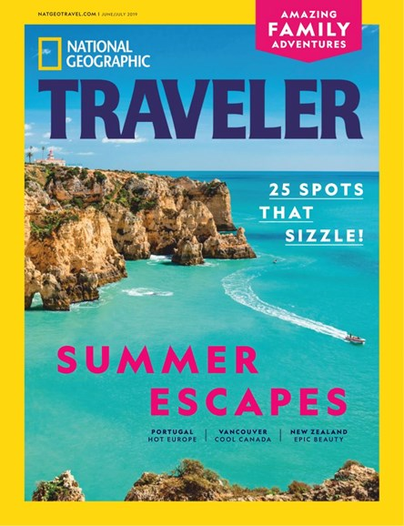National Geographic Traveler Cover - 6/1/2019