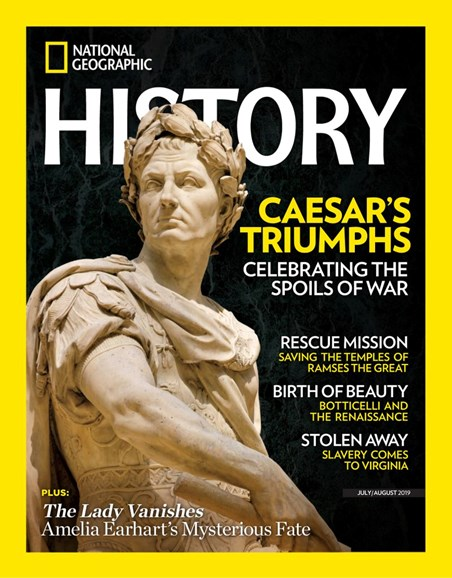 National Geographic History Cover - 7/1/2019