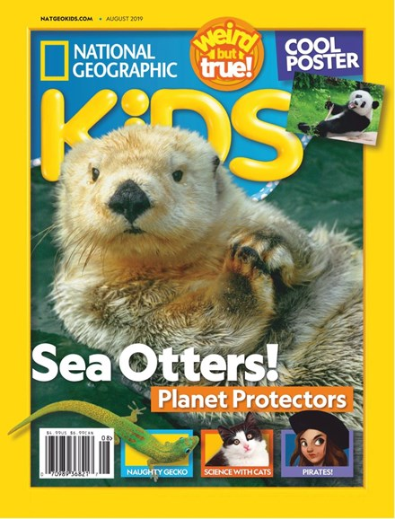 National Geographic Kids Cover - 8/1/2019