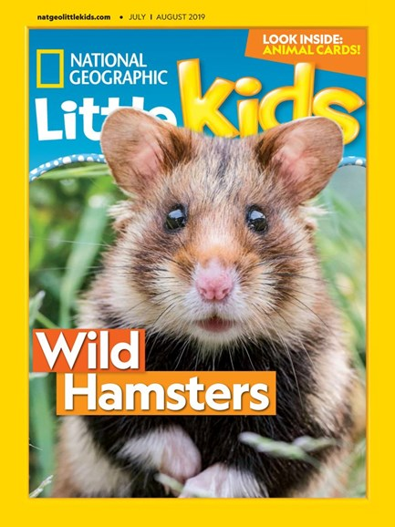 National Geographic Little Kids Cover - 7/1/2019