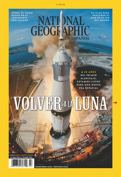 National Geographic En Español Cover - 7/1/2019