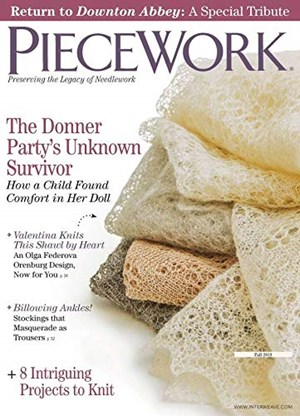 Piecework Magazine | 9/2019 Cover