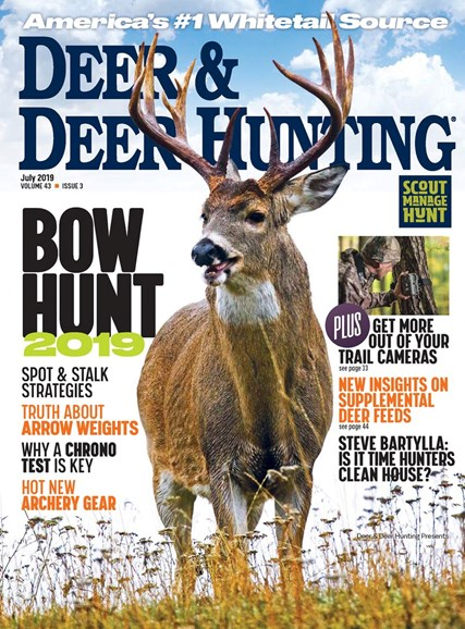 Deer & Deer Hunting Cover - 7/2/2019