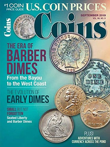 Coins Cover - 9/1/2019