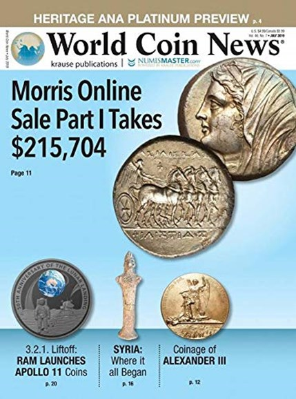 World Coin News Cover - 7/1/2019