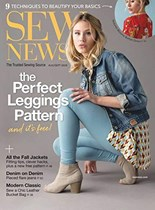 Sew News   8/2019 Cover