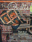 Primitive Quilts and Projects 9/1/2019