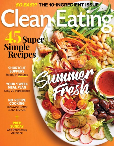 Clean Eating Cover - 7/1/2019