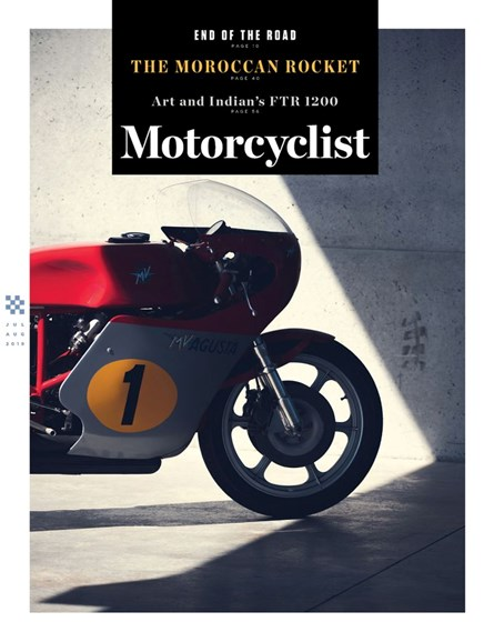 Motorcyclist Cover - 7/1/2019