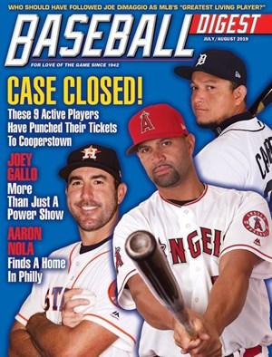 Baseball Digest Magazine | 7/2019 Cover
