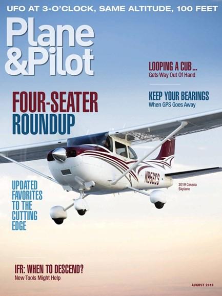 Plane & Pilot Cover - 8/1/2019