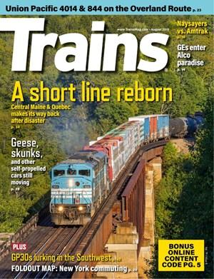 Trains Magazine   8/2019 Cover