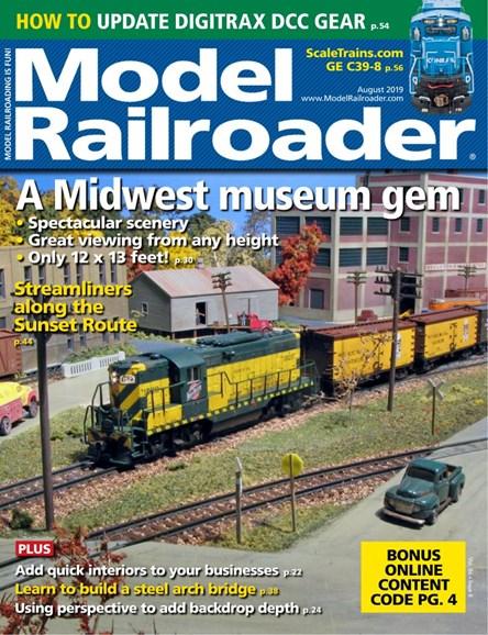 Model Railroader Cover - 8/1/2019