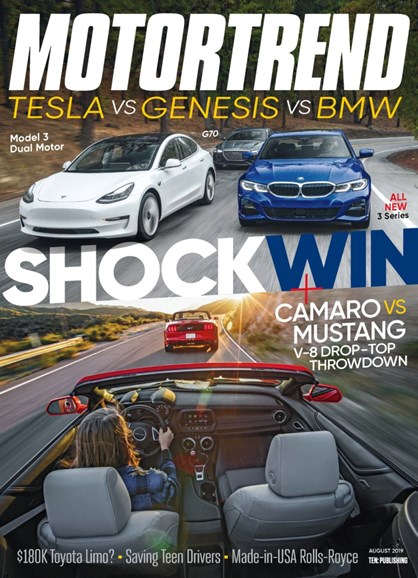Motor Trend Cover - 8/1/2019