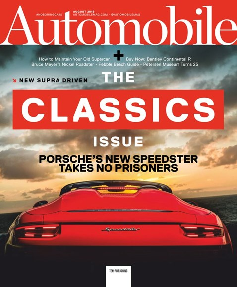 Automobile Cover - 8/1/2019