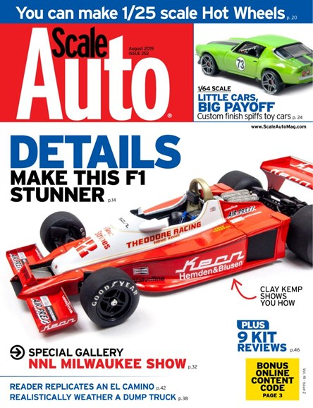 Scale Auto Magazine Cover - 8/1/2019