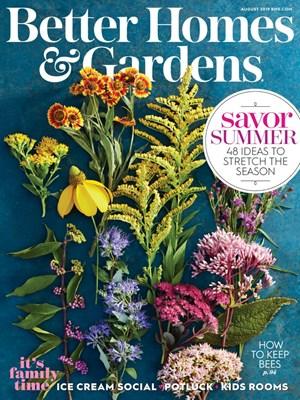 Better Homes & Gardens Magazine | 8/1/2019 Cover