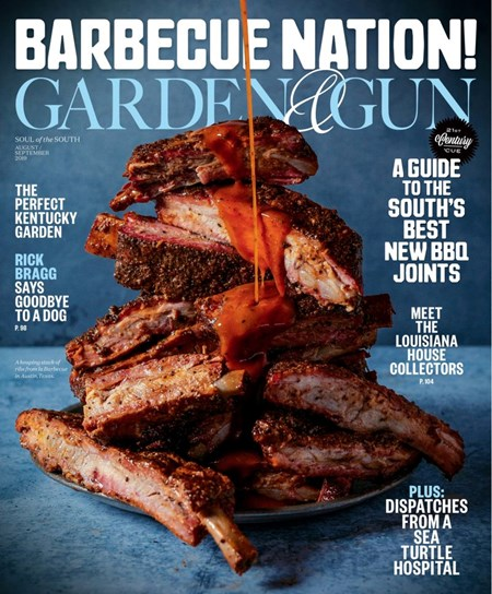Garden & Gun Magazine   8/2019 Cover