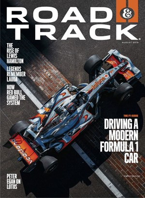 Road and Track Magazine | 8/2019 Cover