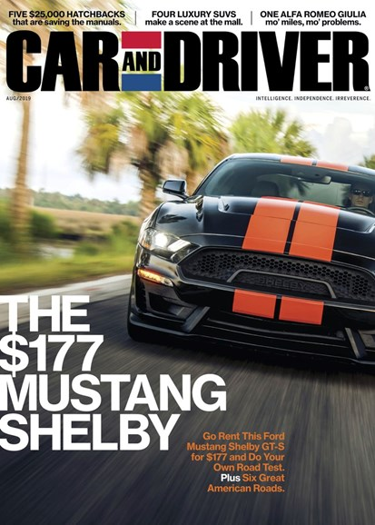 Car And Driver Cover - 8/1/2019