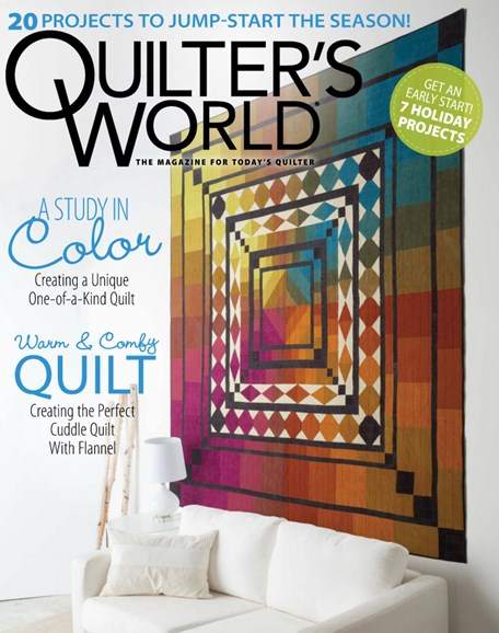 Quilter's World Cover - 9/1/2019