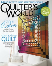 Quilter's World Magazine | 9/2019 Cover