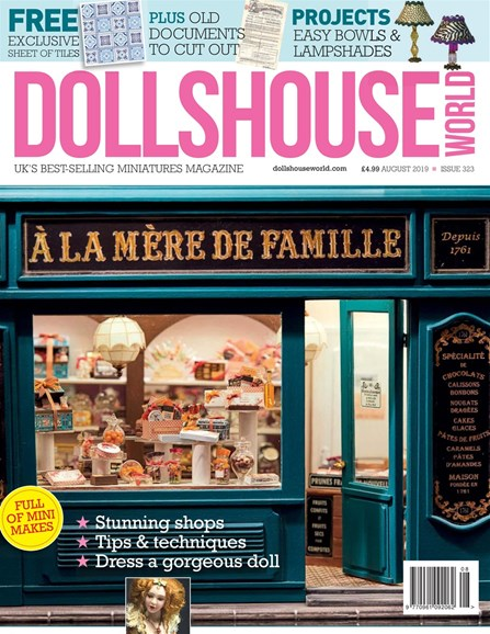 Dolls House World Cover - 8/1/2019