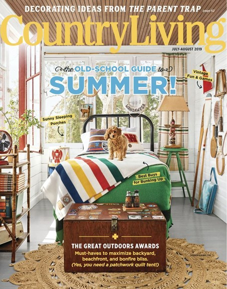 Country Living Cover - 7/1/2019