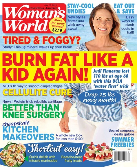 Woman's World Cover - 7/22/2019