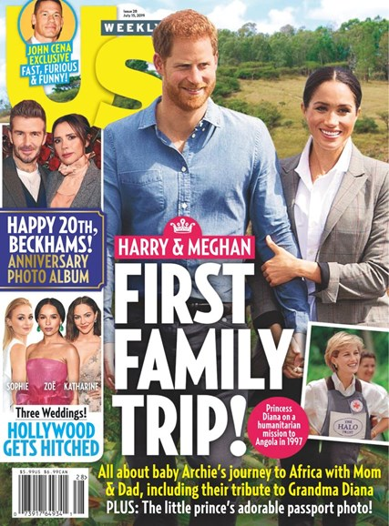 Us Weekly Cover - 7/15/2019