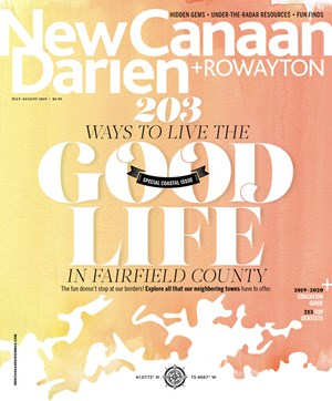 New Canaan Darien Magazine | 7/2019 Cover