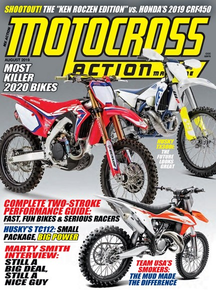 Motocross Action Cover - 8/1/2019